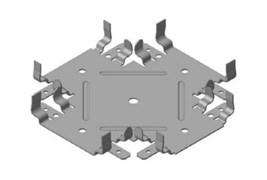 Соединитель профилей  1 уровневой П60х27(краб)