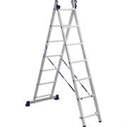 Лестница 2х секц. 2* 7 Алюмет арт.52-07