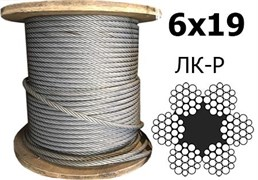 Канат стальной 13,5мм ГОСТ 7688-80